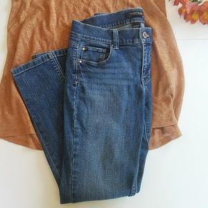 White House Black Market Skimmer Jeans sz 6